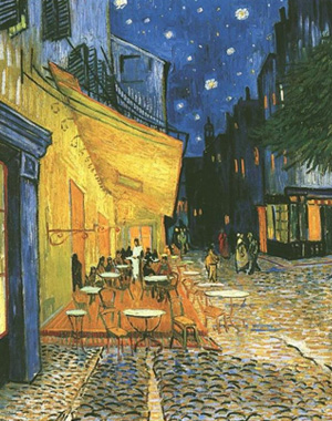 print-cafe-terrace-on-place-du-forum