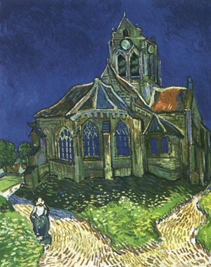 print-church-at-auvers