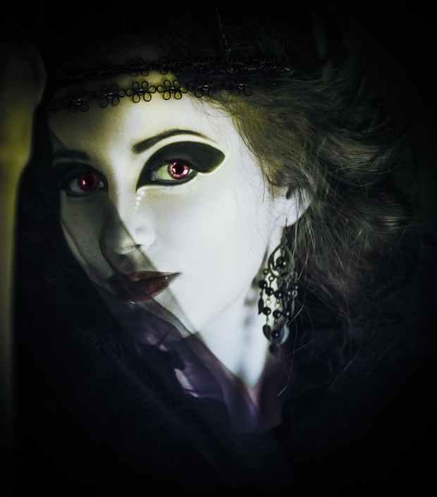 person woman dark girl