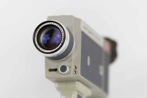 shallow focus photography of white camera