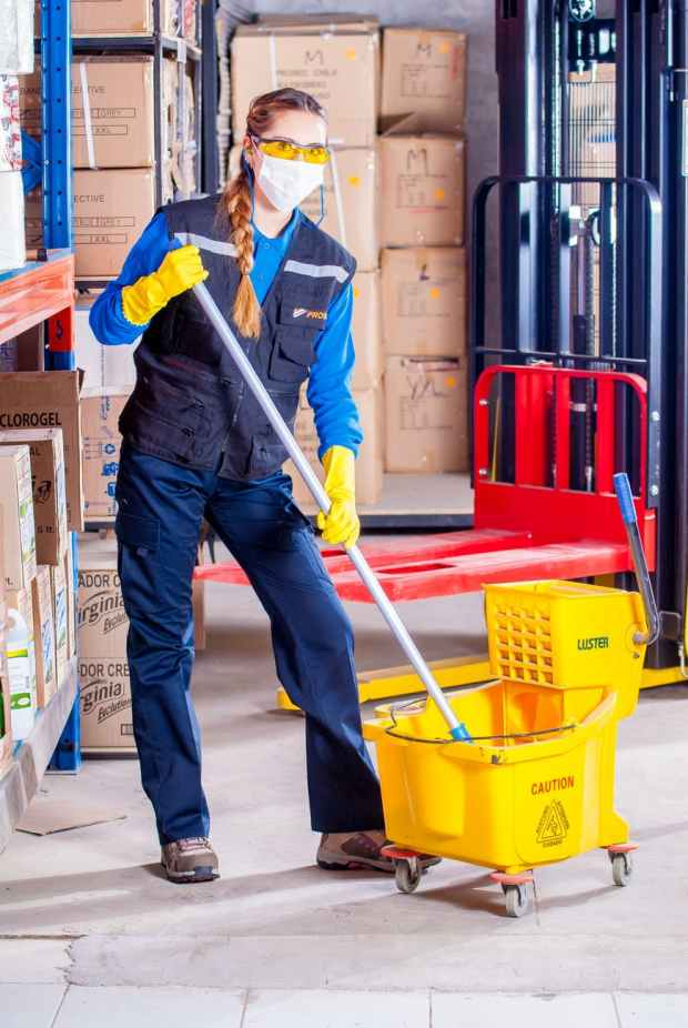 adult building business clean